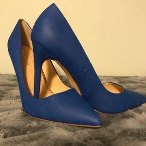 Woman's size 10 cobalt blue heels